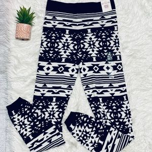 Cozy Tribal sweater jogger leggings